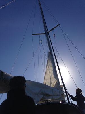Wind auf den Kanaren : entweder voll Stoff oder nichts