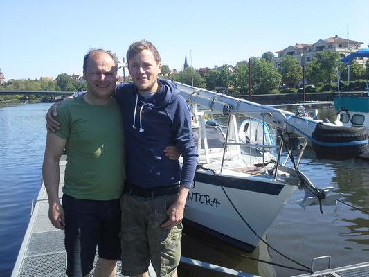 Philipp verlässt uns leider in Aschaffenburg