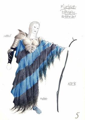 "Figurín para Klinsor, de ""Parsifal"""
