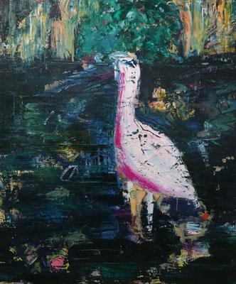 Philipp Kummer   muddy waters   2019   oil on canvas    120x100 cm