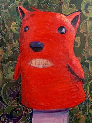 Philipp Kummer | I am pretty | 2020 | oil on canvas  | 160x120 cm