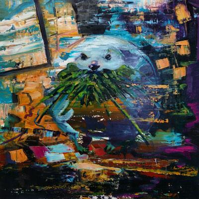 Philipp Kummer   ok   2019   oil on canvas    80x80 cm