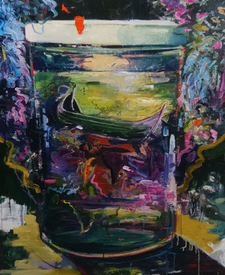 Philipp Kummer | jar | 2019 | oil on canvas  | 160x120 cm