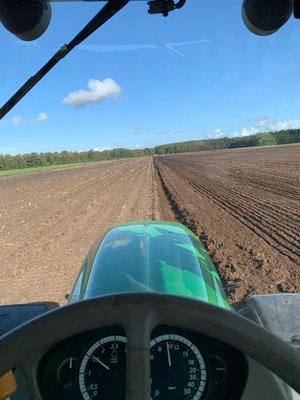 Lohnarbeiten Frdenebeck Schwinge, Bodenbearbeitung pflügen