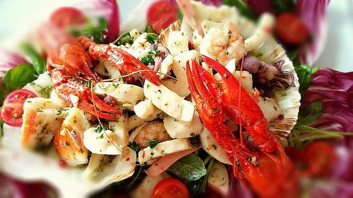 Das Marc Restaurant Burgau - internationale kulinarische Spezialitäten - Meeresfrüchte