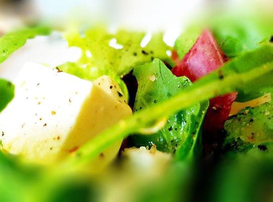 Das Marc Restaurant Burgau - internationale kulinarische Spezialitäten - knackiges Gemüse