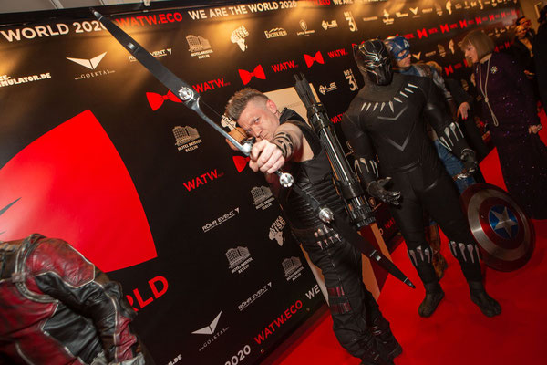 WE ARE THE WORLD Gala 2020 // Photo by Alex Bley // Sponsored by Donatella Whisky // Avengers - Hawkeye