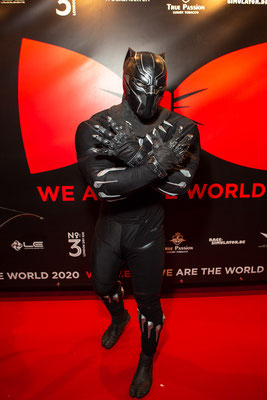 WE ARE THE WORLD Gala 2020 // Photo by Alex Bley // Sponsored by Donatella Whisky // Avengers - Black Panther