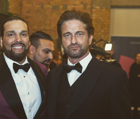 WE ARE THE WORLD Gala 2020 // Photo by Patrick Beierkuhnlein // Sponsored by Donatella Whisky // Gerard Butler