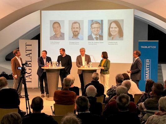 Podium St. Gallen zur Selbstbestimmungsinitiative