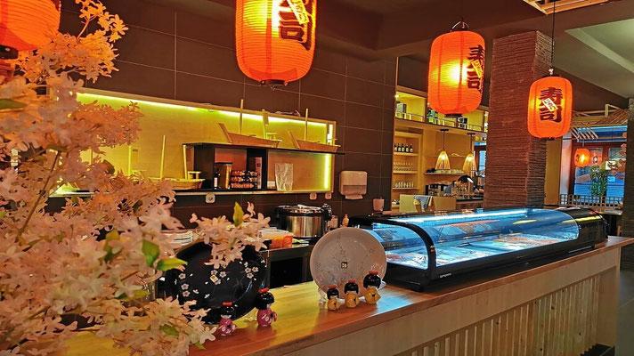 Restaurant im modernen Japan-Style