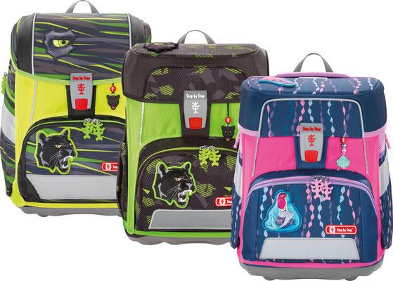 Pull Over leuchtend, passend zum jeweiligen Schulrucksack Cloud, 2in1 oder Space, erhältlich in den Farben neongelb, neongrün oder neonpink