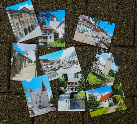 Postkarten von Sursee (fotografiert von Norbert Estermann)