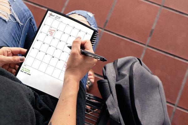 praktisch für den persönlichen Terminkalender