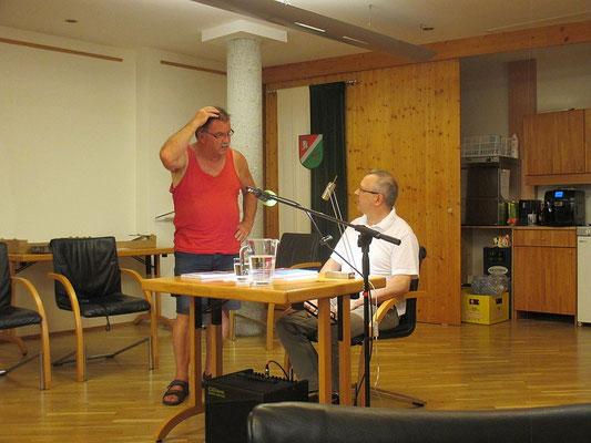 Kumberg, mit Peter Schabler