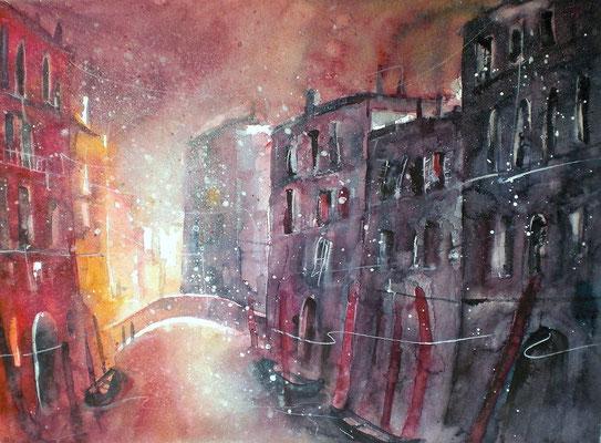 Venedig im Abendlicht 2  36 x 48