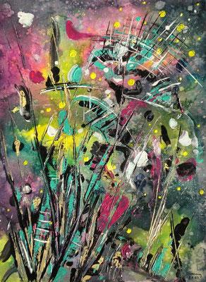 Acryl Frühlingsboten  36 x 48     2013