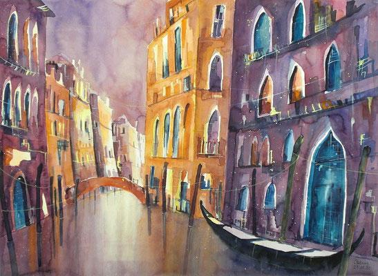 Venedigkanal   46 x 61