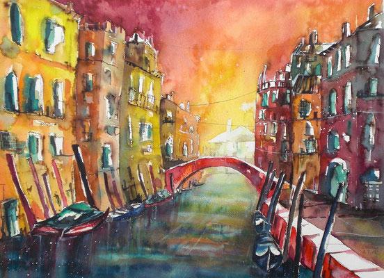 Venedig Sommergefühle  46 x 61