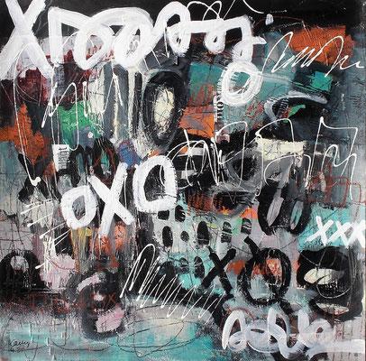 wild dreams   40 x 40 cm