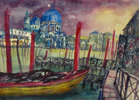 Venedig Maria della Salute  56 x 76