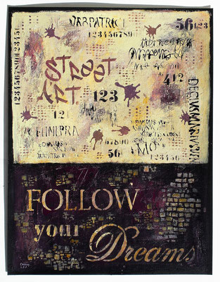 011_Follow your Dreams_50x65cm