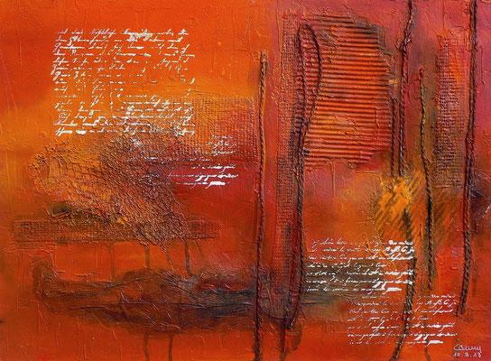 Vergessene Botschaften     42 x 56