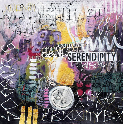 Serendipity   50 x 50 cm