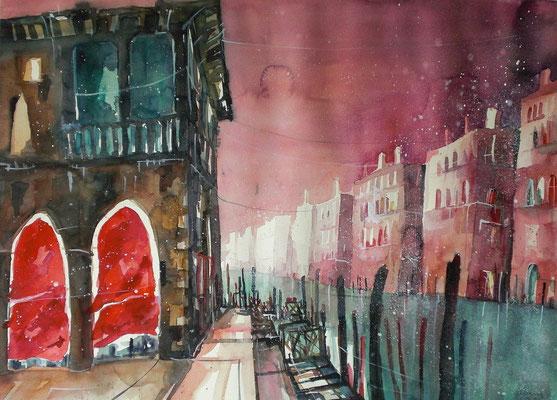 Venedig, Traghetto Pescheria 46 x 61