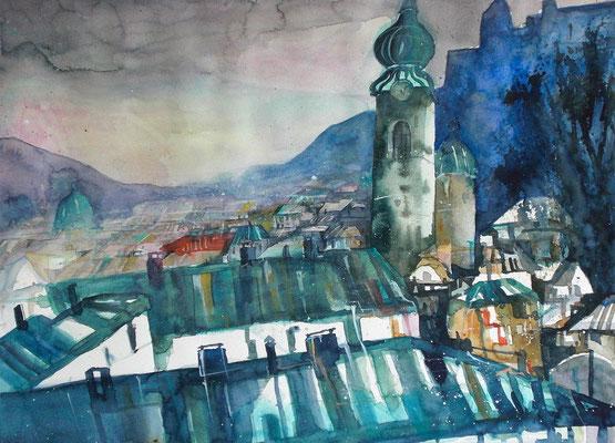 Salzburg St Peter  46 x 61