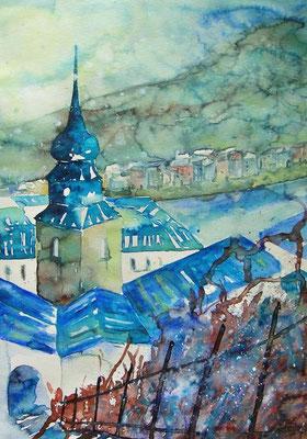 Salzburg Weg zum Kapuzinerberg 2  36 x 50