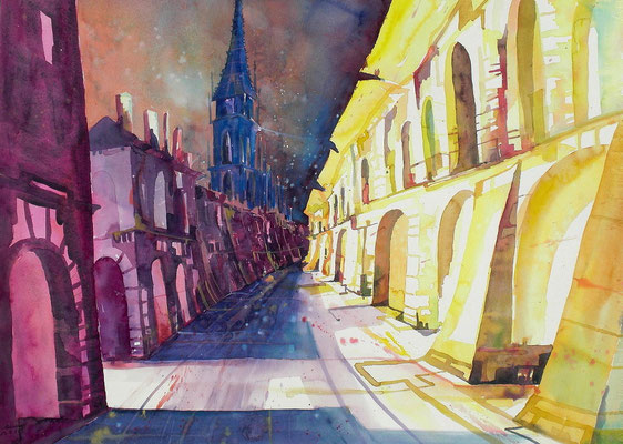Bern mit Münster 56 x 76