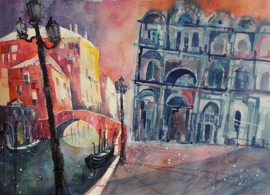 Venezia, Campo di San Giovanni   46 x 61