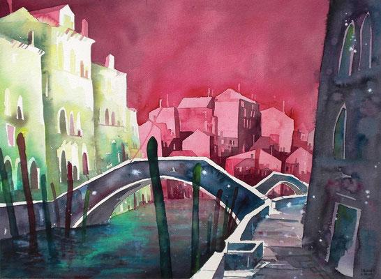 Venedig Rio di Santa Margherita  4     56 x 76