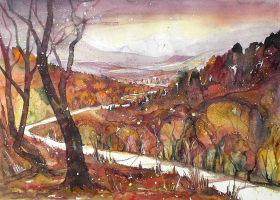 Worblental im Herbst 2   56 x 76