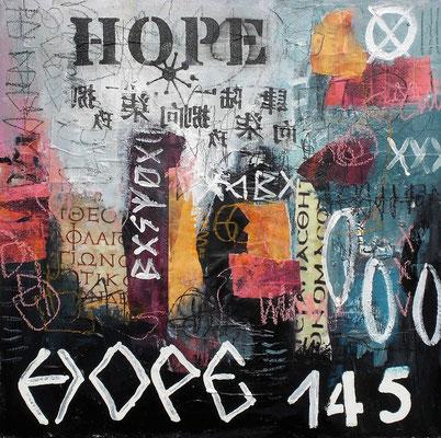 Hope   40 x 40cm