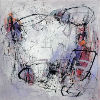 Secret of thoughts  53 x 53 cm