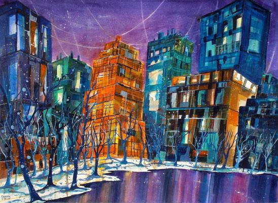 New York Central park 2   56 x 76