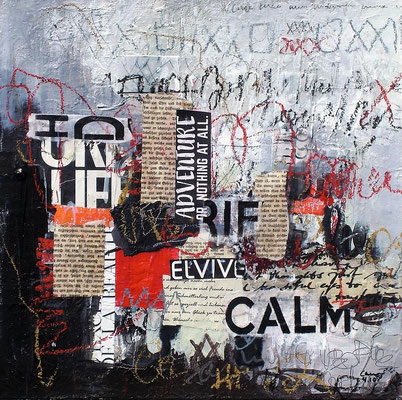 Keep calm  35 x 35 cm
