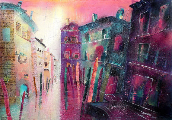 Venezia Rio di San Pantalon   56 x 76