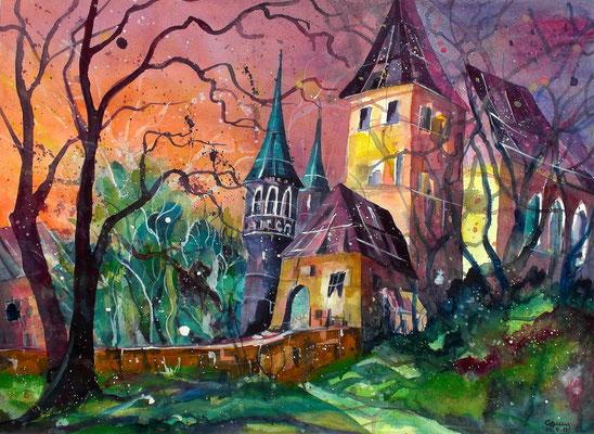 Schloss Worb 2  56 x 76