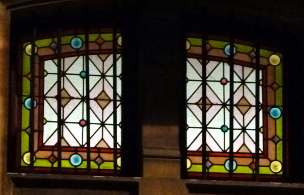 Rue des Chalets, en soirée