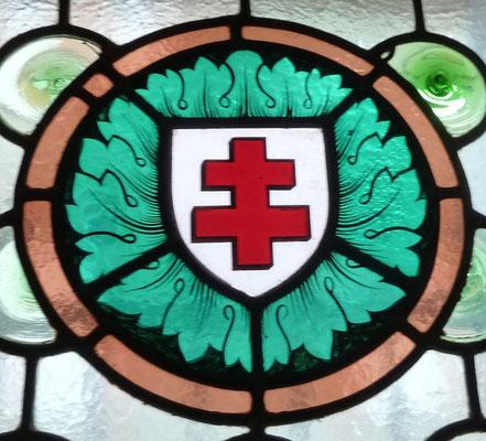 Croix de Lorraine, rue de la Balance
