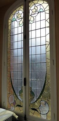 vitraux, institut cervantes, quartier Chalets Toulouse