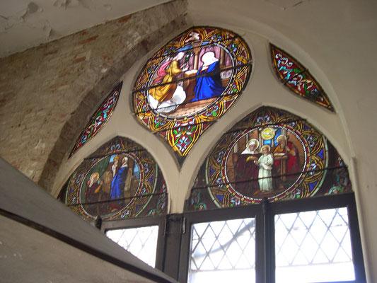vitraux, chateau des Verrières, quartier Chalets Toulouse