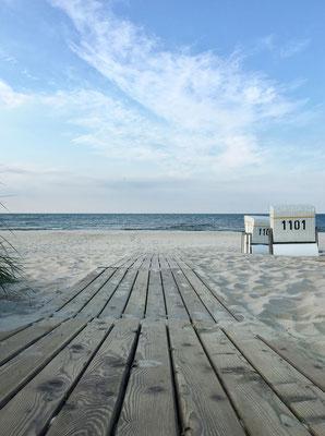 dieartige // SOMMERPAUSE.. mit HEIMATURLAUB // der Strand von Zinnowitz auf Usedom