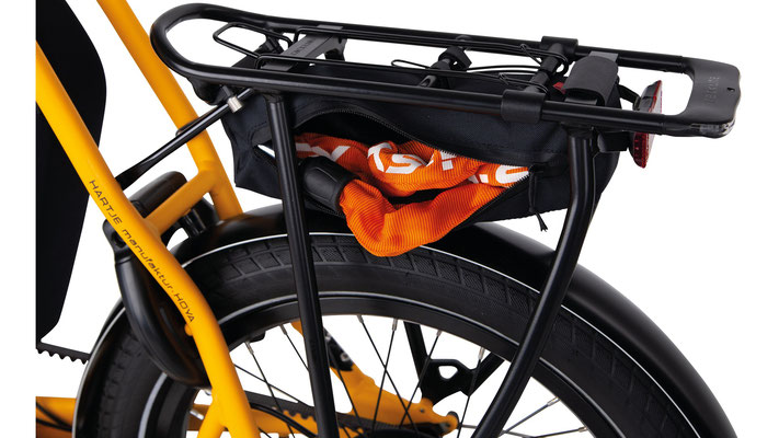Transporttasche für die Trelock Schlosskette. (c)Hartje