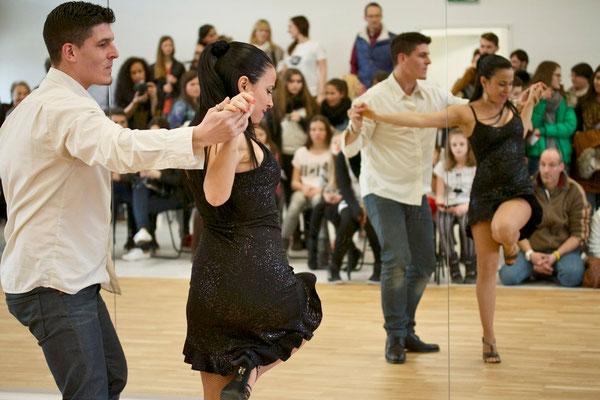 Emma und Jose unsere Salsa Lehrer