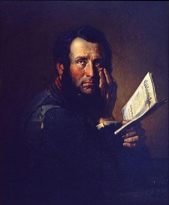 Wilhelm Kleinenbroich, Der Proletarier, 1845, Stiftung Sammlung Volmer, Wuppertal