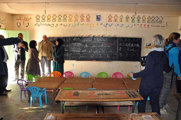 Eenvoudig klaslokaaltje